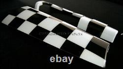 Mk3 F55 F56 F57 Mini Cooper/s / One Chequererd Flag Side Panel Cover Lhd