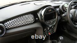 Mk3 Mini Cooper / S/one / Jcw F55 F56 F57 Damier Flag Side Panel Cover Lhd