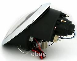 Neuf Projectors For Bmw Mini Cooper R50 R52 R53 2001-2006 Angel Eyes Chrome F