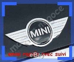 New Logo Emblem Chromed Mini One Cooper Metallic Hood Coffer Dispatched Shipment