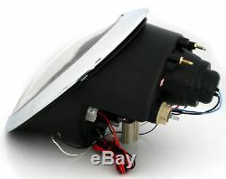 New! Projectors For Bmw Mini Cooper R50 R52 R53 2001-2006 Angel Eyes Black Fr