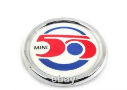New True Mini R56 Clubman R55 50 Years Badge Grid 7238085 Oem