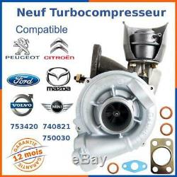 New Turbocharger For Citroen, Peugeot, Ford, Volvo, Mazda 1.6 Hdi 110 HP