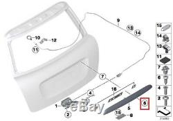 Nine On Origin Mini R56 R57 Hood Safe Grip Rear Black 2753602