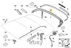 Oem Mini R57 Cabriolet Moulding Box Kit 7375320 7375319 Nine