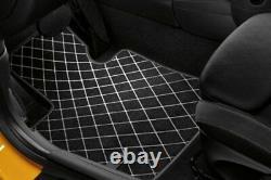 Original Mini Clubman F54 Textil-fussmatten-set Nattes Nine 51472408524-2408526