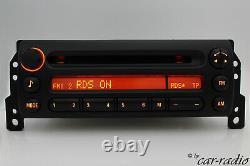 Original Mini Cooper Radio Company CD R50 R52 R53 Autoradio Rds Mp3-radio One