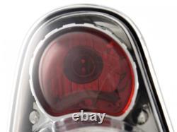 Pair Design Tail Lights Mini One / Cooper (r50 / R52 / R53) 01-06