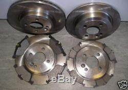 R50 R52 R53 Cooper Mini One 1.6 The Front And Rear Brake Discs &