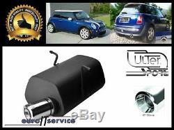 Silencer Mini Cooper R50 R53 1.4 1.6i 2001 2002 2003 2004 2005 2006 Ø100
