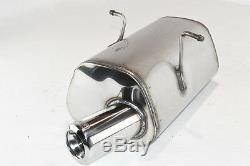 Silencer Stainless Steel Mini Cooper 2000-2002 2003 2004 2005 2006 Tip 80