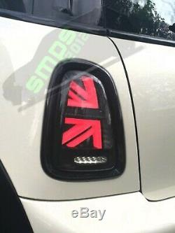 Smoked Led Mini Union Jack Tail R56, R57, R58, R59 2011 + (gen 2 Lci)