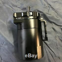 Universal Oil Collector Oil Collector Oil Catch Tank Black