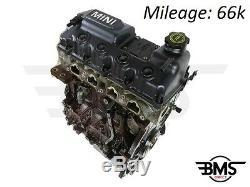 Used Bmw Mini One / Cooper 1.6 Petrol Engine W10b16a 66k 0392945 # 3