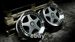 17 Argent DR-F5 Roues Alliage Pour BMW E36 Mini Countryman Paceman Jc R60 R61