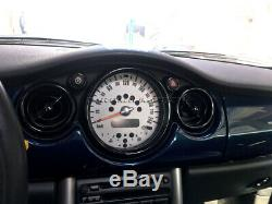 2001-2006 Bmw Mini Cooper/S / One R50 R52 R53 Noir Intérieur Cadran Bord de 12pc