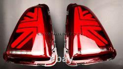 2nd Génération 3D Rouge Union Jack Feux Arrière Pour MK2 Mini Cooper/S R56 R57