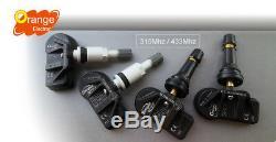 4 Capteurs de pression TPMS pour MINI CLUBMAN R55 F54 2014 Auto-réapprentissage