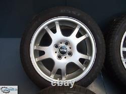 4x Original Mini One D Cooper R50 R52 R53 5,5J X 16 Pouces Jantes 6755814