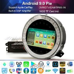 7 DAB+Autoradio Android 9.0 WIFI Bluetopth 5.0 Carplay DSP for BMW Mini Cooper