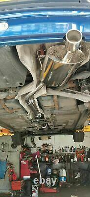 Acier Inoxydable Mini Cooper / One R50 Échappement Course Système Catalyseur Dos