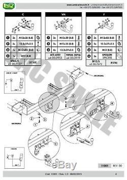 Attelage Démont + Faisceaux 7 Br pour Mini COOPER R56 BERLINE 3 p 06+ 11001/C A1