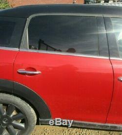 BMW Mini COOPER S R60 Countryman Arrière Droite Porte en (Blazing Rouge B63)