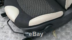 BMW Mini Cooper One R56 Sport Demi Cuir Blanc Crème Intérieurs Sièges Airbag