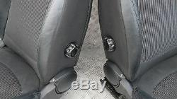 BMW Mini Cooper One R56 Sport Demi Cuir Noir Intérieurs Sièges avec Airbag