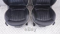 BMW Mini Cooper R56 Sport Complet Cuir Noir Lounge Intérieurs Sièges Avec