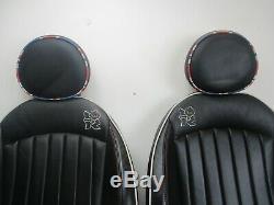 BMW Mini Noir Chauffé London 2012 Olympiques Lounge Cuir Intérieur / Siège R56