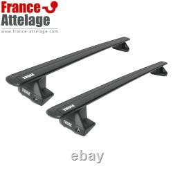 Barres de toit aluminium Thule WingBar EVO pour BMW Mini Clubman type F54 NEUF