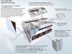 Bosch S5A05 Batterie de Voiture 60A/h-680A