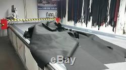 Cabriolet Matériau d'occlusion très grand pas cher Tissu noir pr. Ex pour Poches