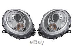 Conduite à gauche avant Droit Phare Set Halogène LED pour Mini 11.05-11.13