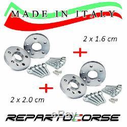 ELARGISSEUR DE VOIES REPARTOCORSE 2x16mm+2x20mm MINI COOPER S R56 MADE IN ITALY