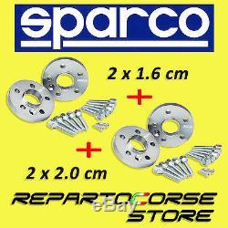 Élargisseurs de Voie Sparco 16 + 20mm Mini One, Cooper, Clubman, S, D, R55, R56