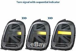Feu arrière à LED pour Mini Cooper F55 F56 F57 2014-18 Feux Arrières Union Jack