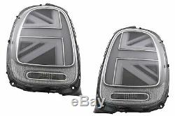 Feux arrire pour MINI ONE F55 F56 F57 3D 5D Cabriolet 14-18 JCW Design Argent