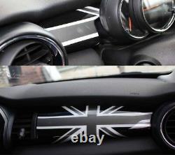 Habitacle Intérieur Union Jack Noir Convenable Pour Mini One Cooper F56 F55 F57