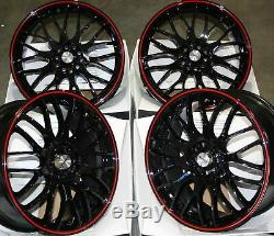 Jantes en Alliage X4 18 Br Alcar Motion 4x100 BMW Mini R50 R52 R55 R56 R57 R58