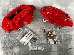 Kit Gros Etrier De Frein 4 Pistons Avant Rouge Pour Mini Cooper S Jcw One R56