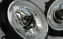 LED Béquille Phares BMW Mini Cooper R55 Chrome Clignotants LED Diurnes