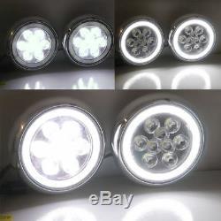 LED DRL Bar Feux Avant Phare de Circulation Diurne Kit avec pour Mini Cooper C