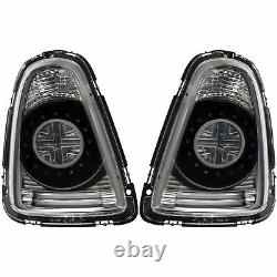 LED Lightbar Arrière Feux Pour BMW Mini R56 R57 Cabriolet 06-10 Clair Fumee