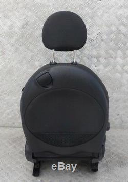 MINI COOPER R56 Sport demi cuir noir intérieur avant gauche SEAT Coté Gauche/S