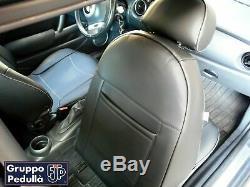 MINI COOPER S 1^SÉRIE ('01-'07) R50-R52-R53 Housses de sièges en faux cuir