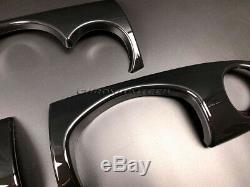 MK1 MINI COOPER/S / One Jcw R50 R52 R53 Noir Tableau Housse pour Rhd Modèles