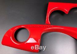 MK1 Mini Cooper/S / One Jcw R50 R52 R53 Piment Rouge Tableau Housse pour LHD