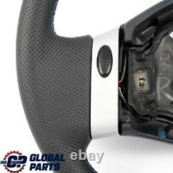 Mini Cooper One R50 Volant Neuf Cuir Noir Avec 2 Rayons Tri Colorés F